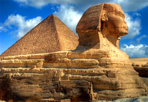 Sphinx Agung Giza Mesir